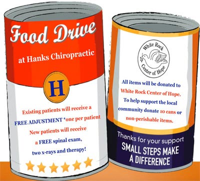 Chiropractic Dallas TX Hanks Chiropractic Center Food Drive