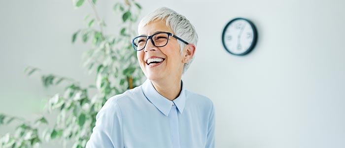 Chiropractic Dallas TX Smiling Woman