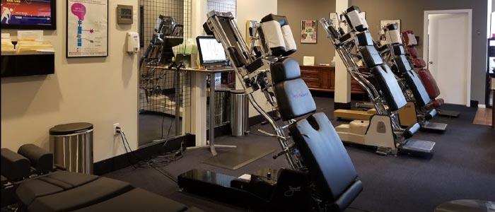Chiropractic Dallas TX Treatment Room