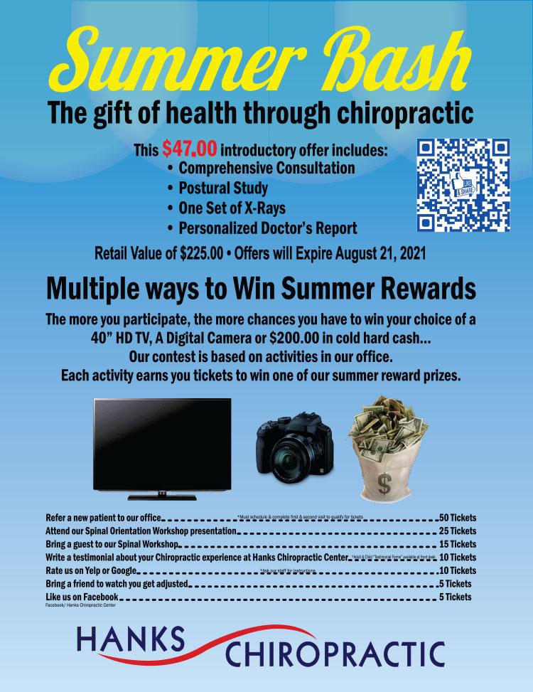 Chiropractic Dallas TX Summer Bash Event